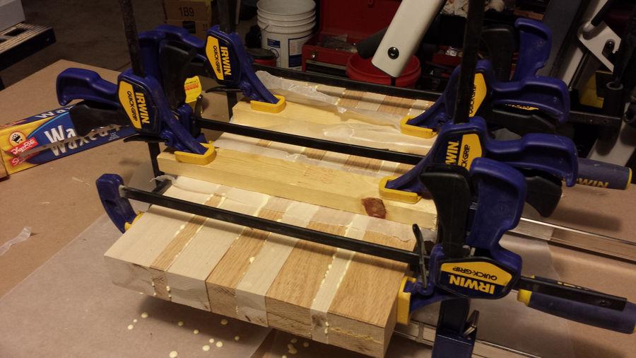 Photo of Oak & Maple End Grain Cutting Board