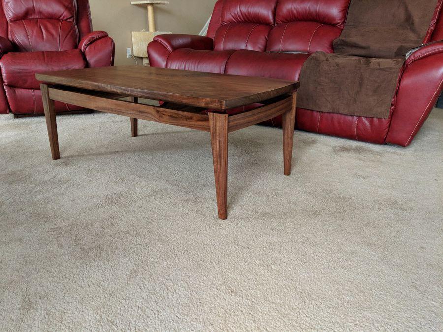 Photo of Modern Walnut Coffee Table