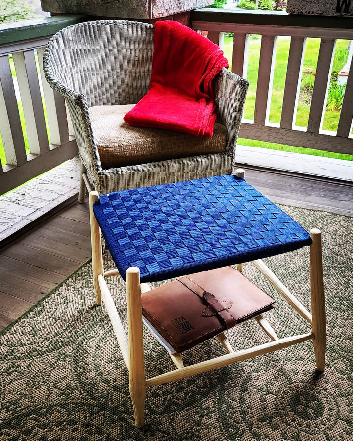 Photo of Greenwood White Ash Foot Rest with Shaker Tape Top