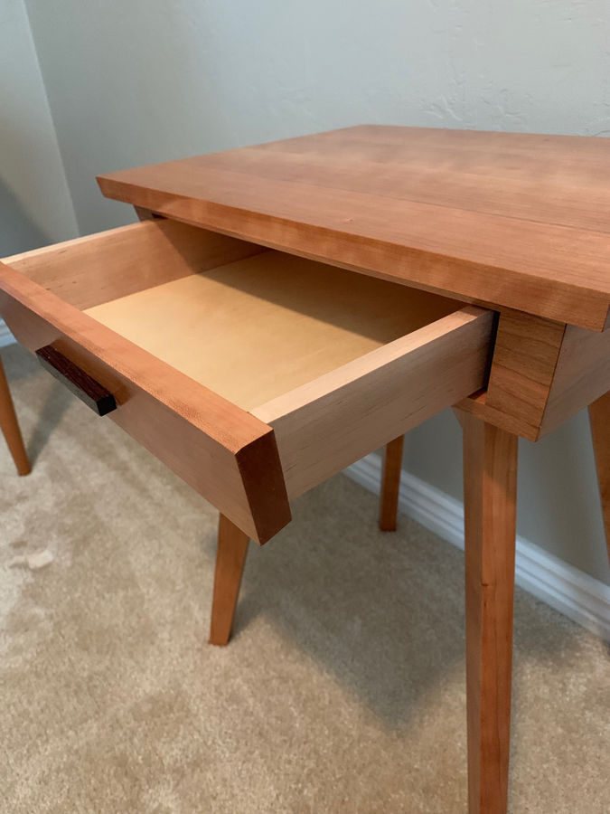 Photo of Mid Century Modern bedside table
