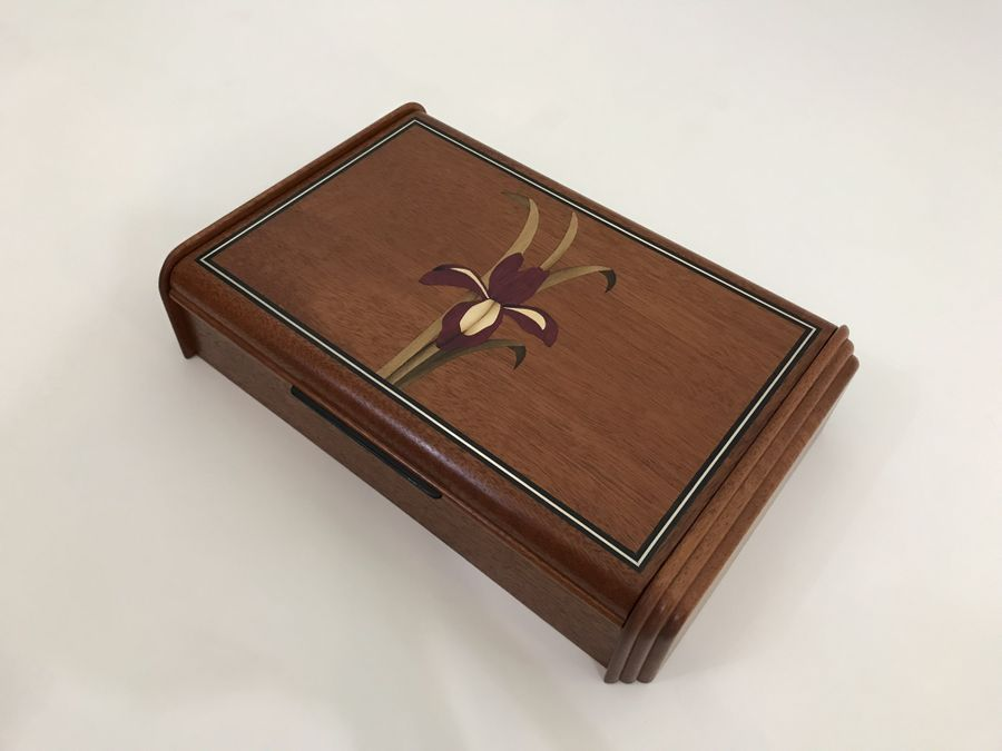 Photo of Iris Inlay Boxes