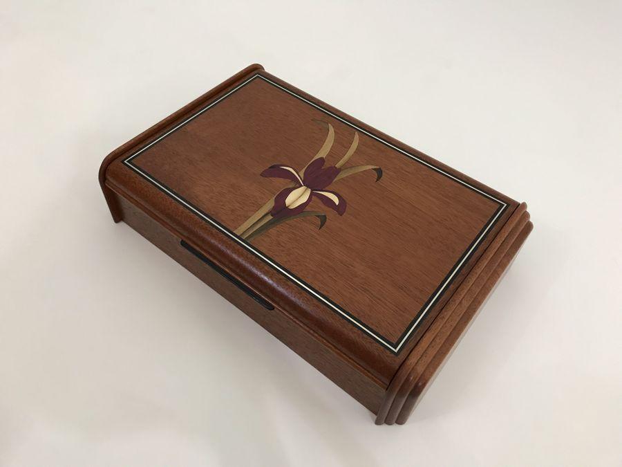 Photo of Iris Inlay Boxes