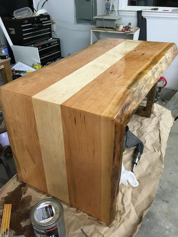 Photo of Waterfall coffee table