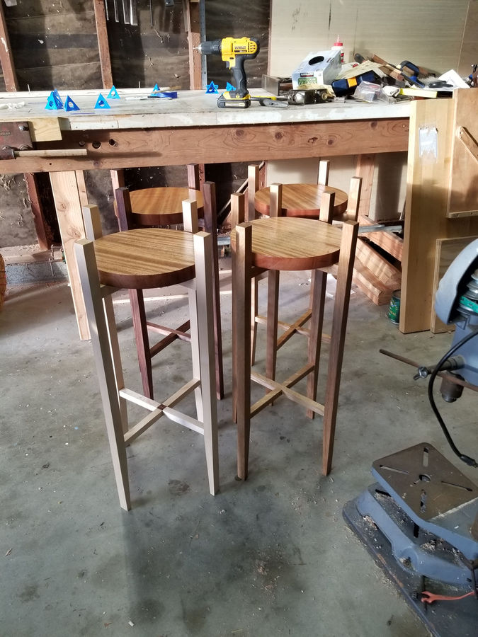 Photo of Mid-Century Plant Stands for Christmas