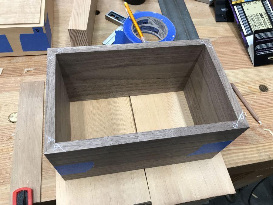 Photo of Keepsake Box In Walnut