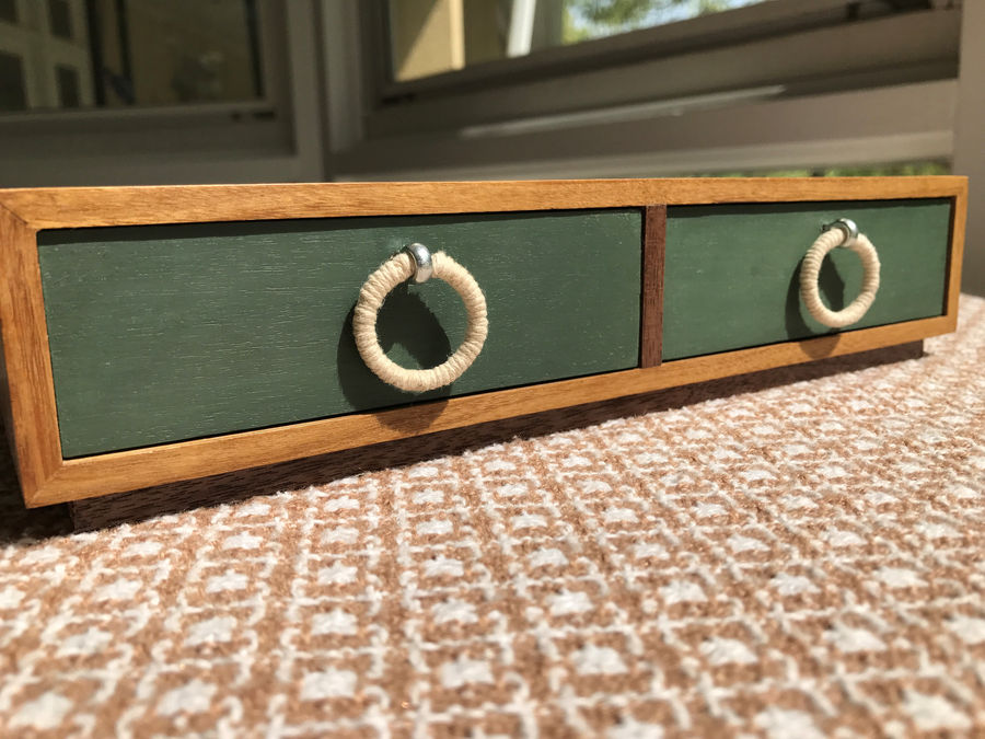 Photo of Box 4 In Afromosia And Walnut