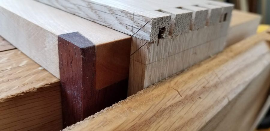 Photo of White Oak And Basswood Box