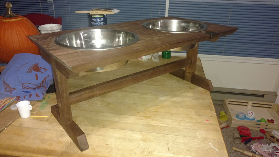 Photo of Dog Bowl Stand