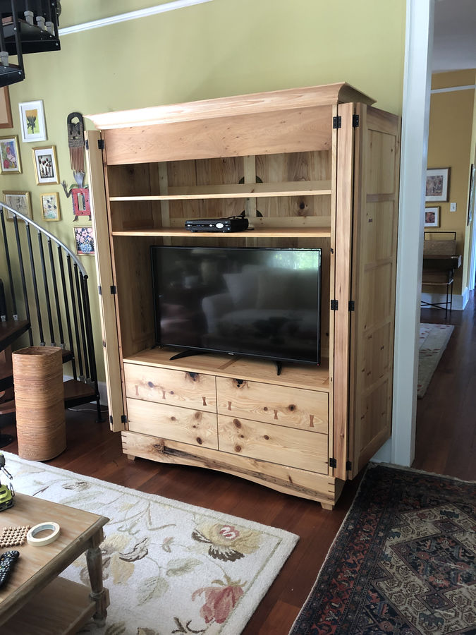 Photo of Cypress entertainment center