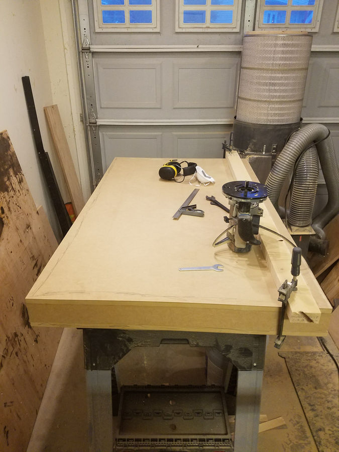 Photo of Assembly/Outfeed/Router Jointing Table