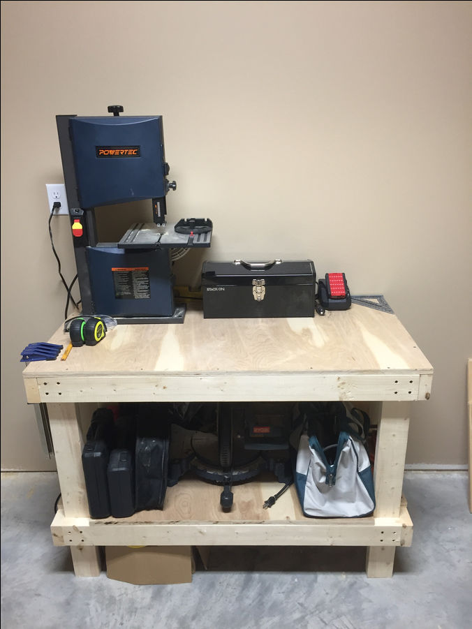 Photo of Simple 2x4 Workbench