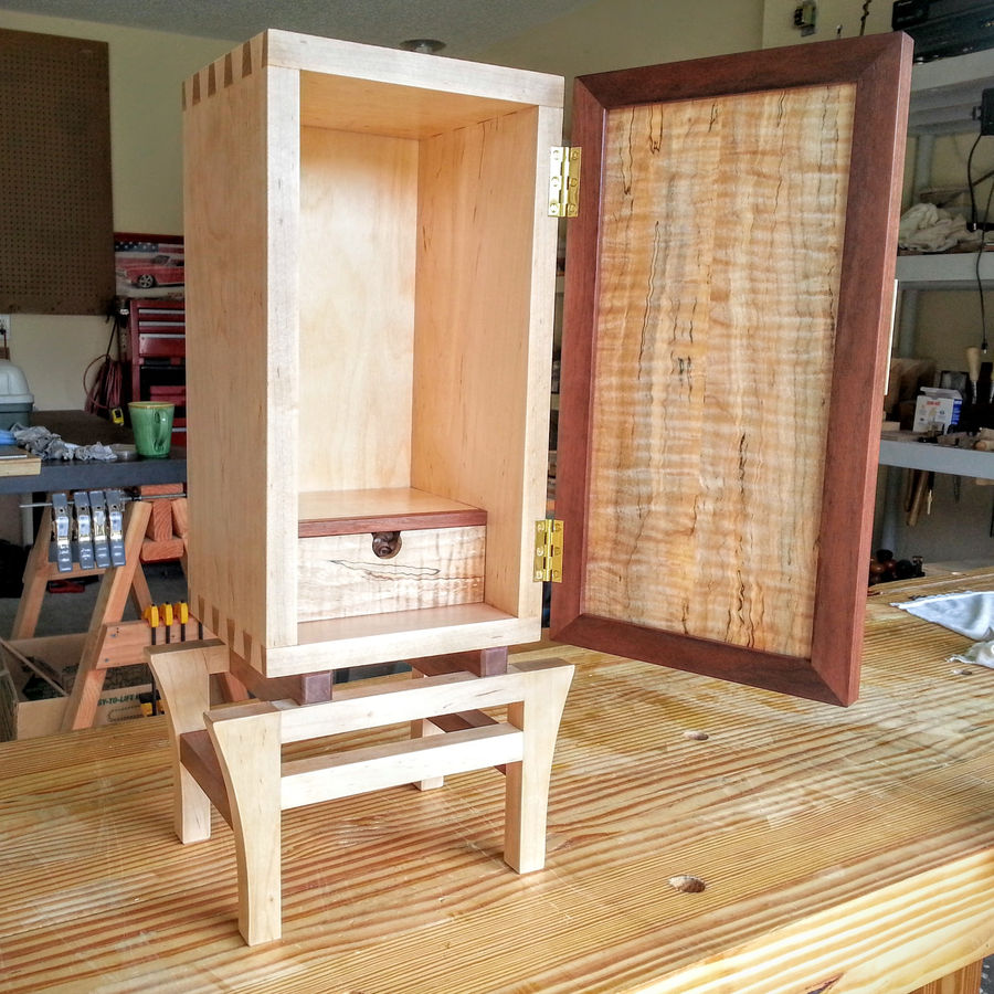 Photo of Small Krenov Inspired Cabinet (Hand Tools Only)