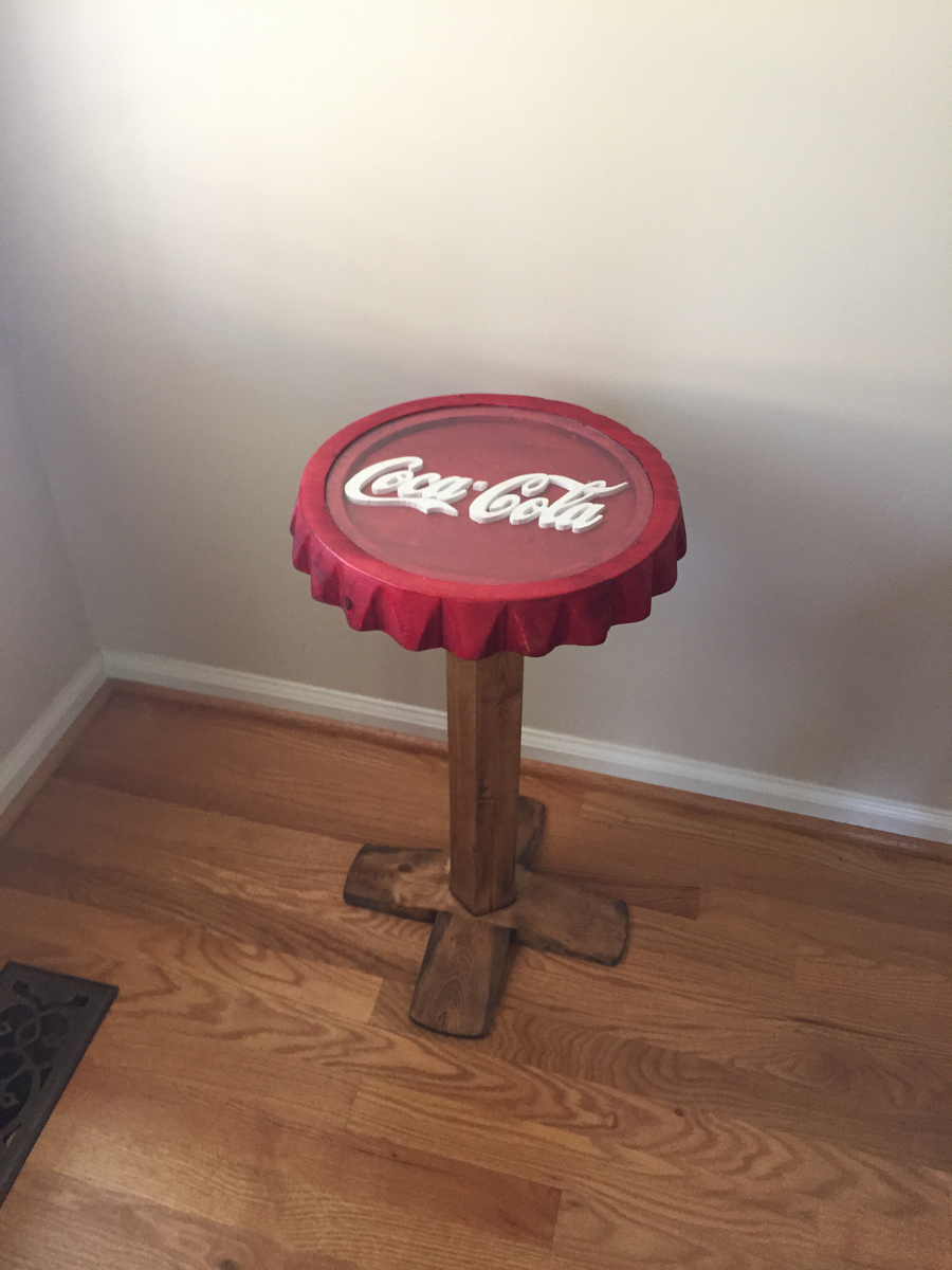 Photo of Coca-Cola Themed Side Table