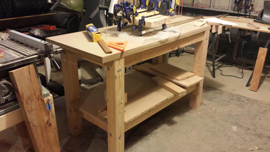 super simple workbench build by tmbridge simplecove
