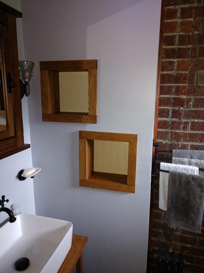 Photo of Bathroom wall niches
