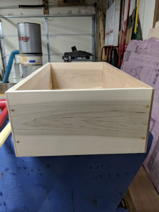 Photo of Cherry chest of drawers