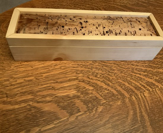 Raised panel box