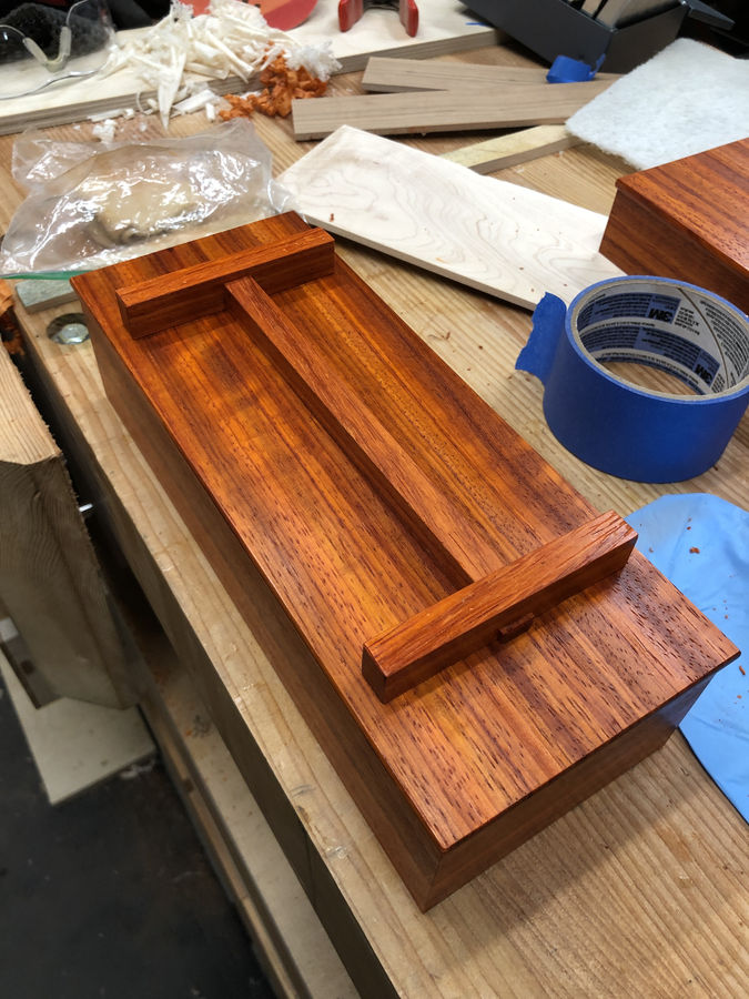 Photo of Padauk Tea Box
