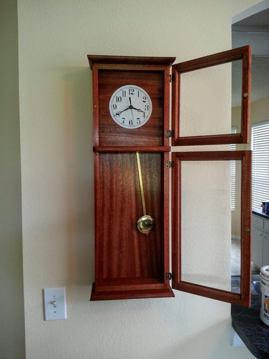 Shaker wall clock create your free maker profile simplecove amipublicfo Image collections
