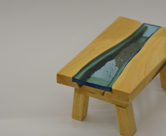 River Table From Firewood