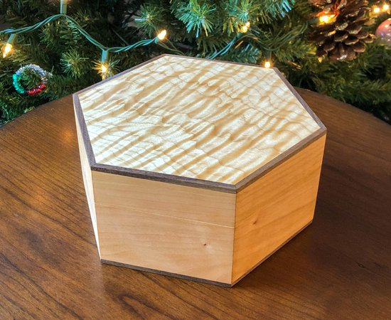 Hexagonal Keepsake Box