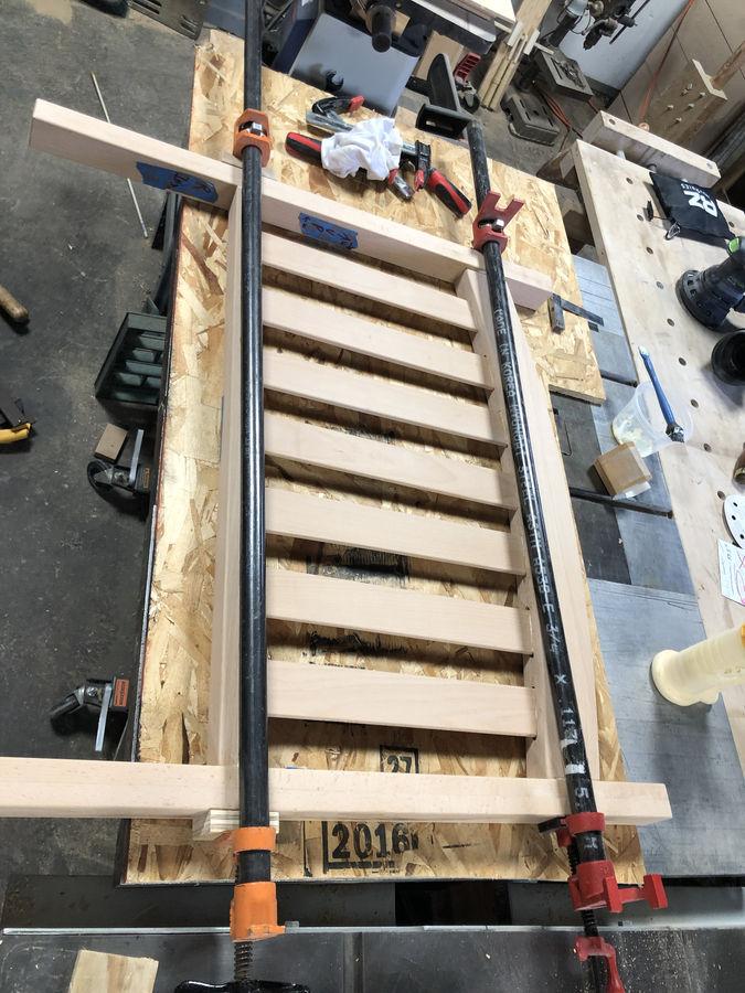 Photo of Big Boy Bed with a Brio train rail