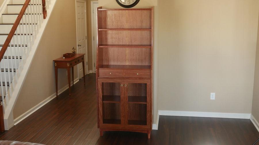 Photo of Modern Bubinga Cabinet