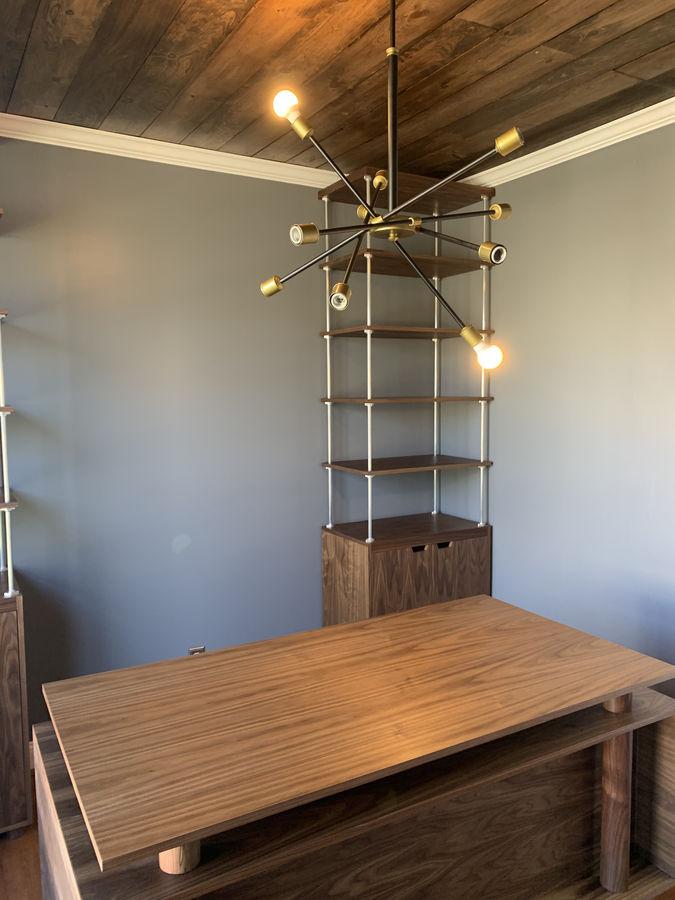 Photo of Modern Desk and Book Shelf Set