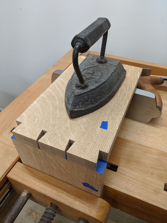 Photo of Dovetail Alignment Board