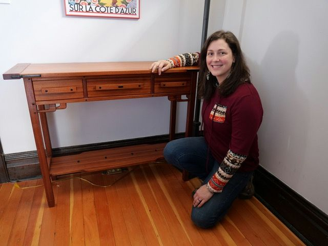 Photo of Greene And Greene Inspired Entryway Table