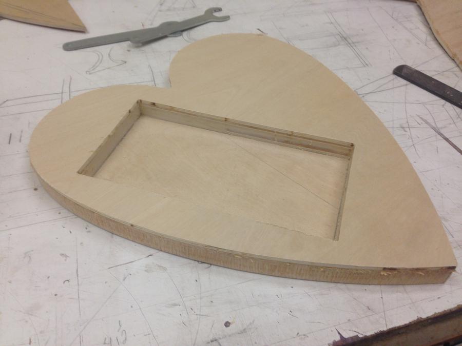 Photo of Heart Shaped Chocolate Holder