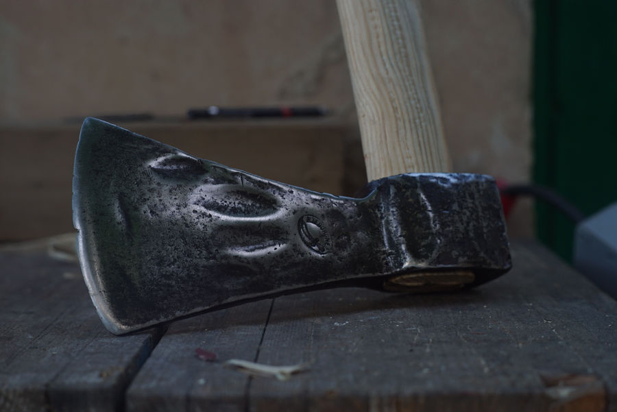 Photo of Old Axe Restoration