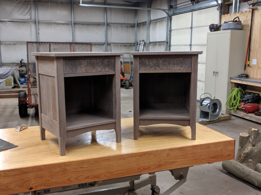 Photo of Walnut Bed Side Tables