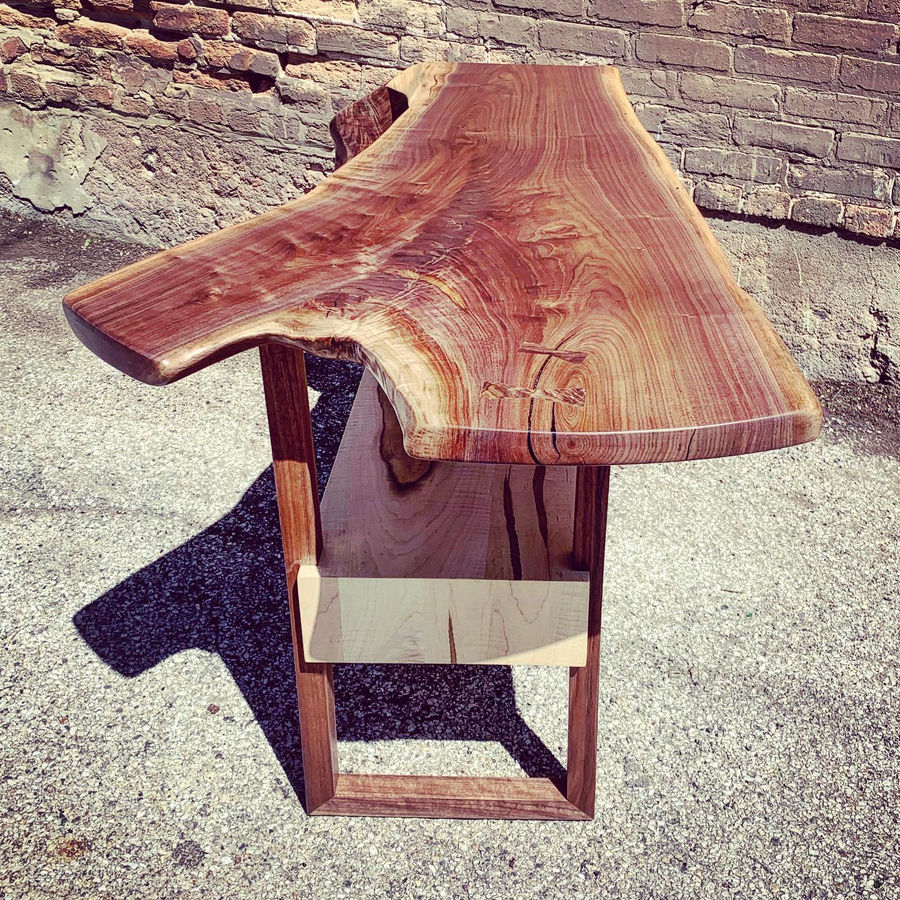 Photo of Crotch Waterfall Record Player Table