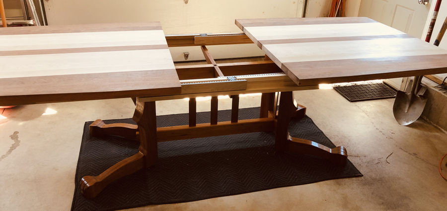 Photo of Lion's Paw Extension Dining Table