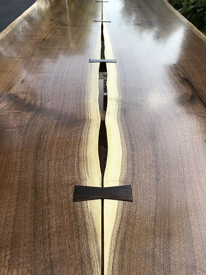 Photo of Nakashima Style Dining Table
