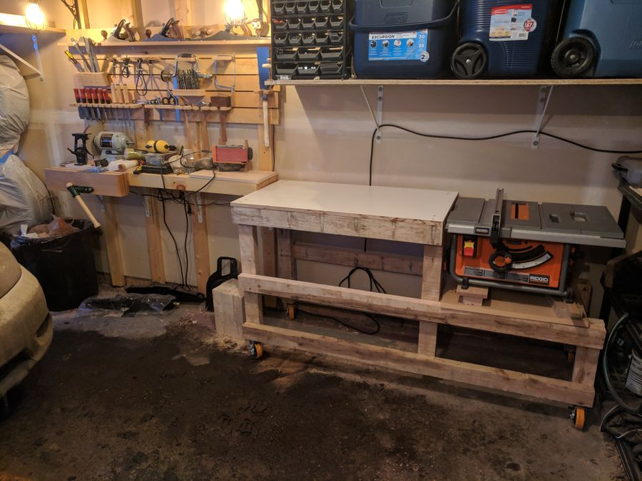 Photo of Power Tool Workbench