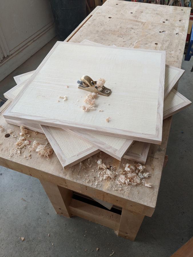 Photo of Greene And Greene Inspired Rotating Bookcase