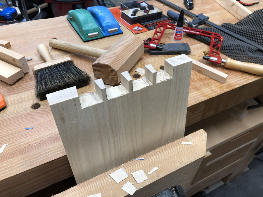 Photo of Dovetailed Step Stools