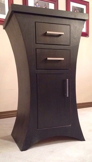 Photo of Curved Night Stand