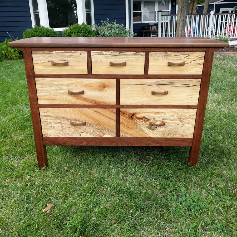 Photo of Low chest of drawers