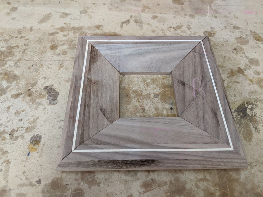 Photo of Large Walnut Picture Frame