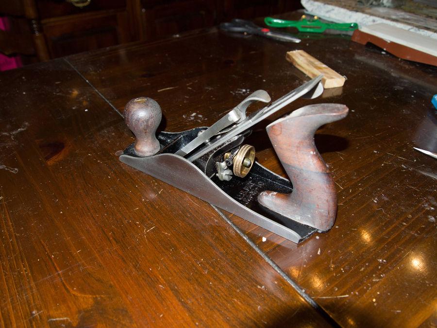 Photo of Stanley No.4 Type 13 Sweetheart Bench Plane Restoration