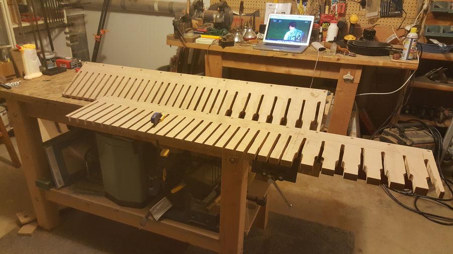 Photo of Clamp Storage Rack