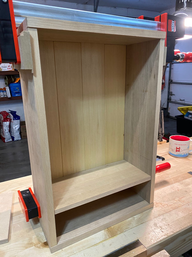 Photo of Hanging Wall Cabinet