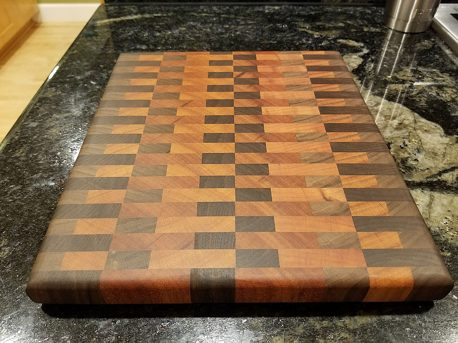 Photo of First End Grain Cutting Board