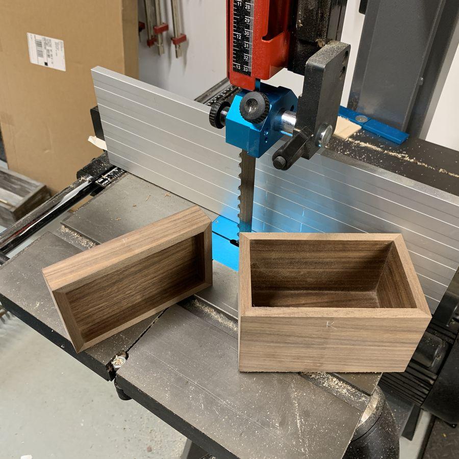 Photo of Recipe Box In Walnut