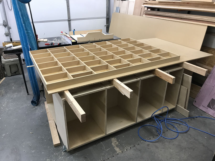 Photo of Assembly & Outfeed Table