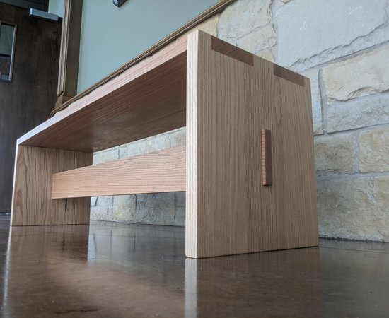 Red Oak Sitting Benches