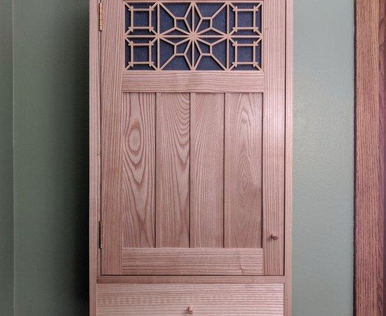 Ash Tea Cabinet